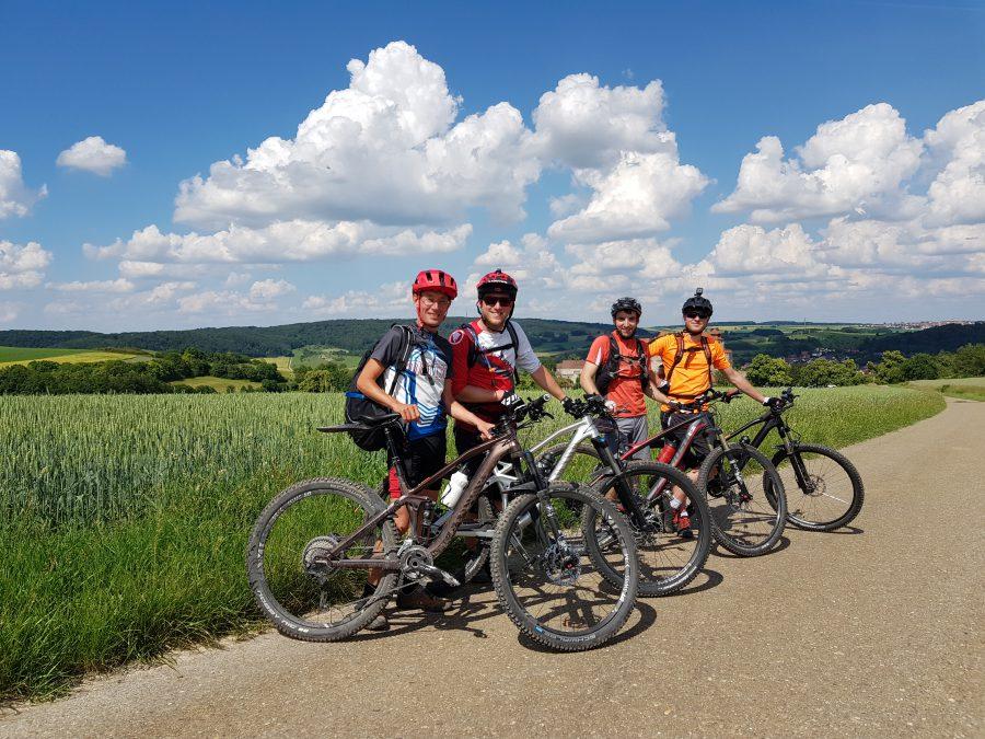 Nördlingen Fahrrad Tour MTB um das Ries