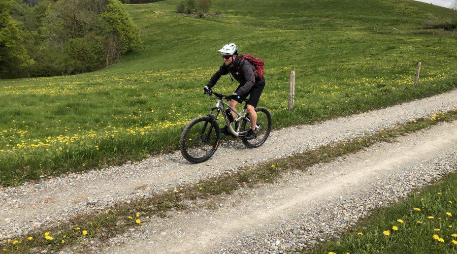 Mountainbiketour, Mountainbike, Allgäu, Buchenberg, Schwarzer Grat, Isny, Immenstadt