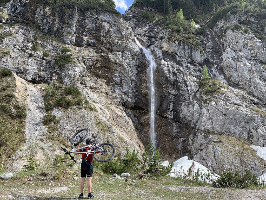 Wasserfall im Karwendel mit Joachim Jooss