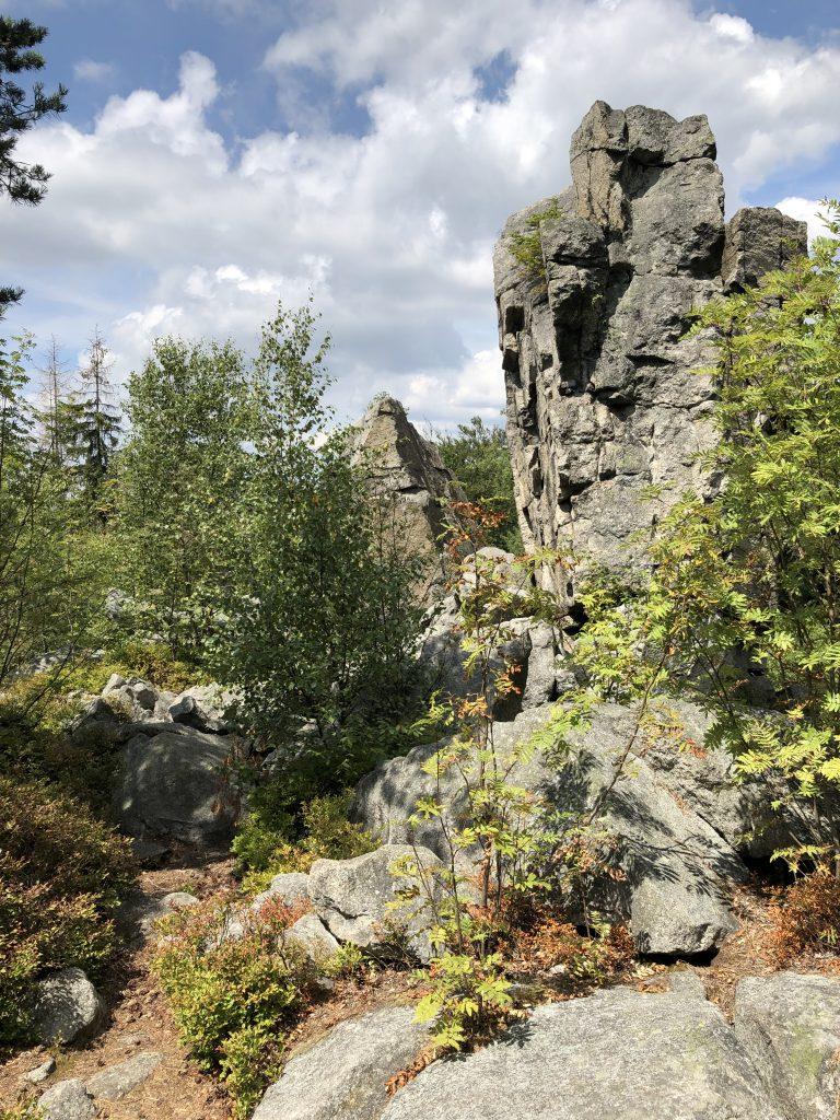 mtb-moments.de Fichtelgebirge Trailtour Steinwald Michaque Kaiser & Martin Strauss