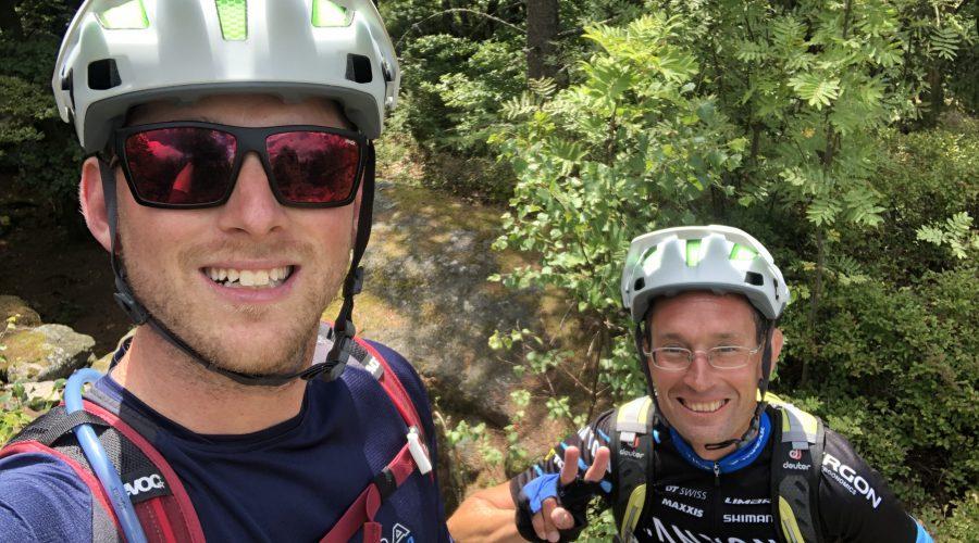 mtb-moments.de Fichtelgebirge Trailtour Steinwald Michaque & Martin