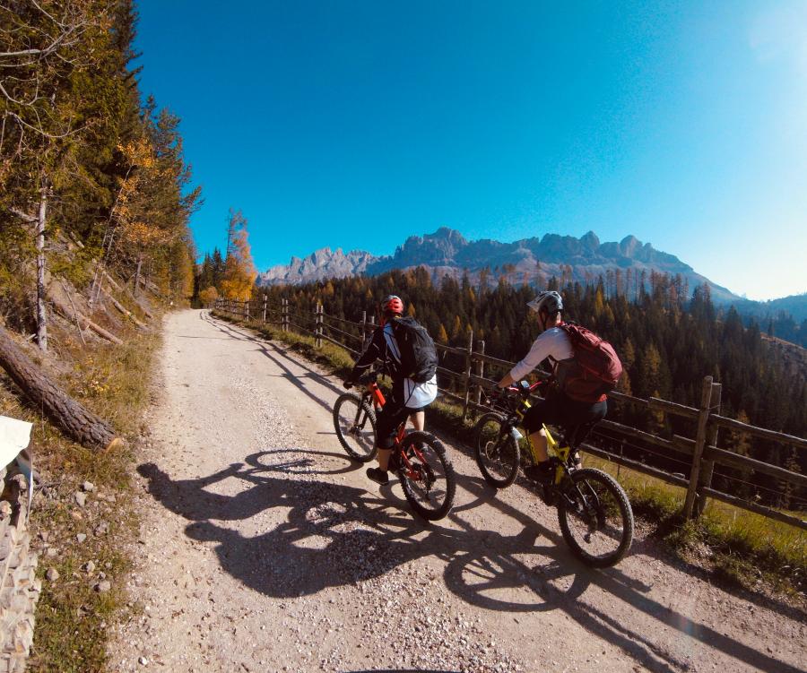 Mountainbiken im Eggental mtb-moments.de Michaque Kaiser